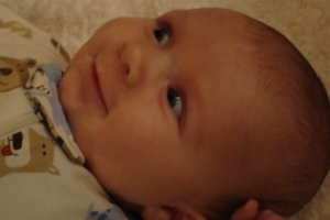 Sonny smiling